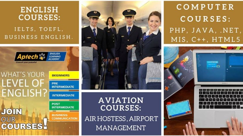 Aptech Aviation Air Hostess Training Institute in Chandigarh