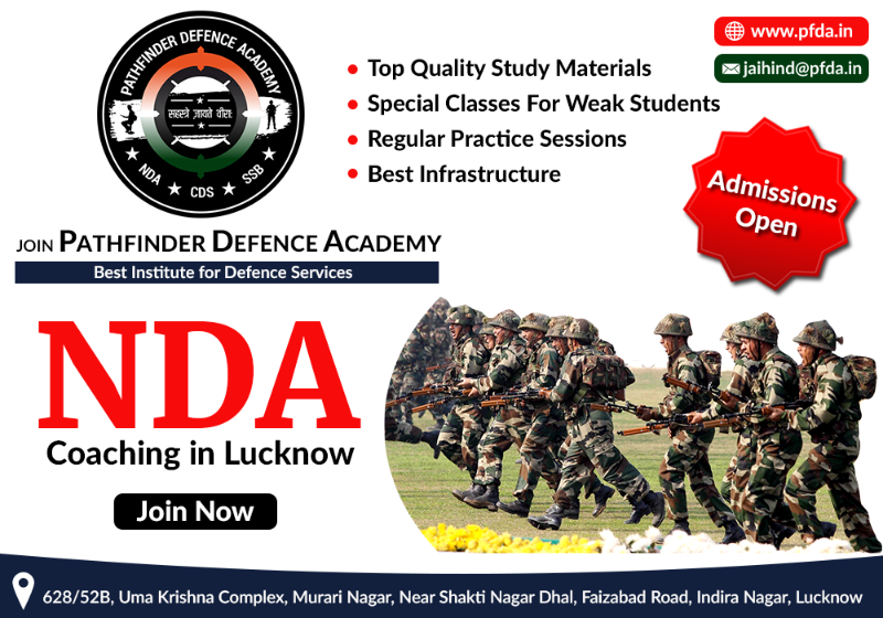 Pathfinder Defence Academy | NDA, CDS, SSB Coaching Classes in Lucknow